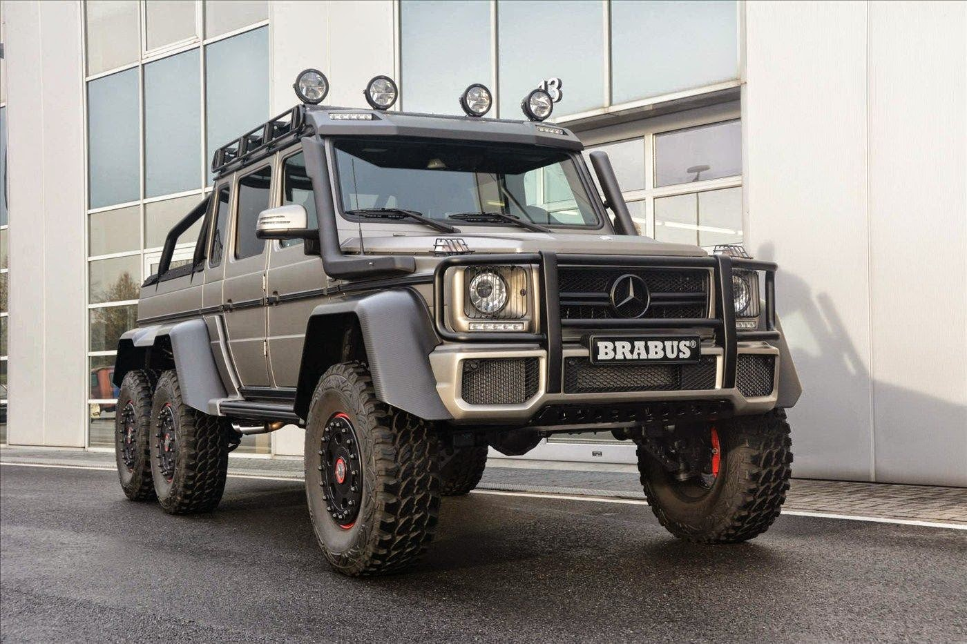 mercedes benz g63 amg brabus 6x6 benztuning. Black Bedroom Furniture Sets. Home Design Ideas