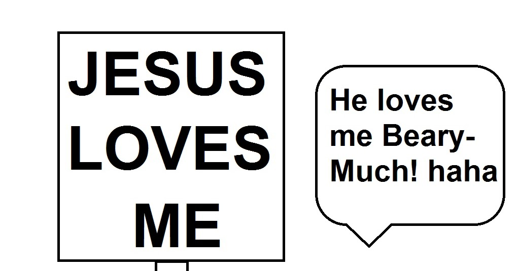 Church House Collection Blog: Jesus Loves Me Beary Much