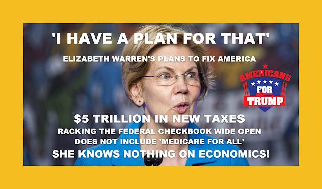 Memes: ELIZABETH WARREN'S PLANS TO FIX AMERICA