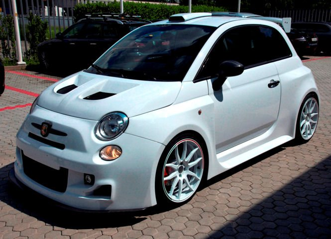info motori  abarth 500  u201cgumball version u201d da 300 cv by