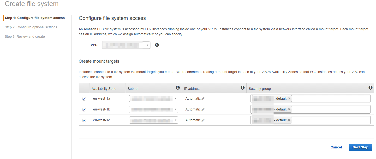 Yet Another Tridion Blog: Using Elastic File System for Out