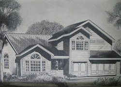 pencil drawing easy drawings simple bahay kubo houses modern