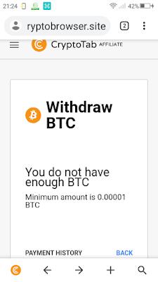 cara mendaptkan bitcoin gratis di cryptotab