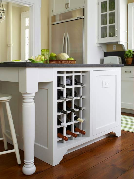 Home Interior Design Kitchen Island Storage Ideas