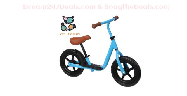 KingSo Kids Balance Bike with Footrest 40.01% OFF