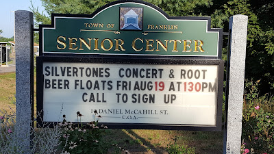 Silvertones Concert on Friday Aug 19th