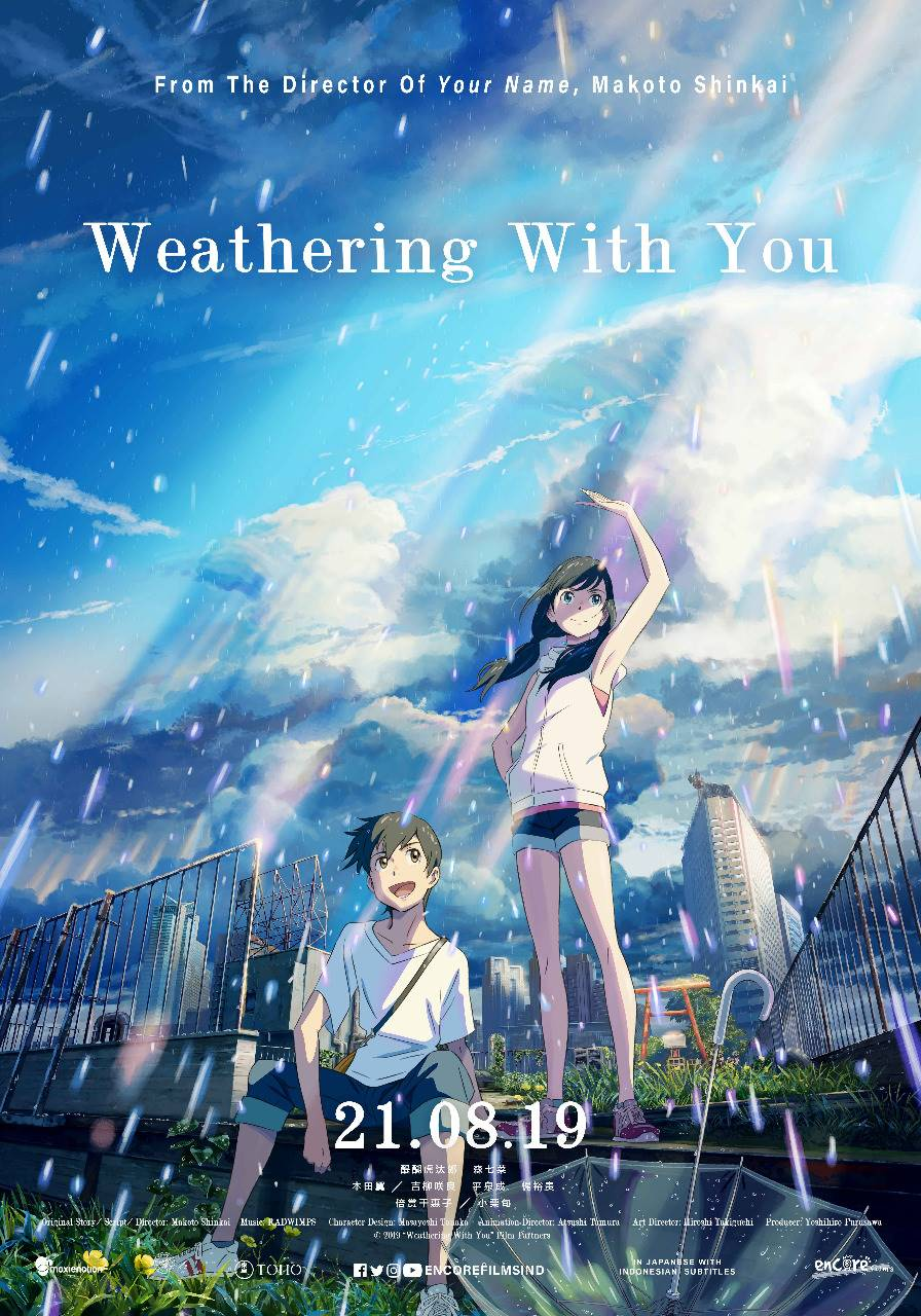 Download Film Weathering With You (2019) Full Movie Indonesia