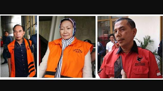 Tiga Walikota Cimahi Berakhir di Jeruji KPK, Partainya Golkar dan PDIP