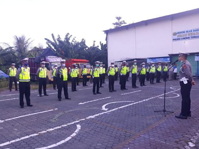 Sat Lantas Polres Lombok Tengah akan kembali aktifkan Kawasan Tertib Lalu Lintas.