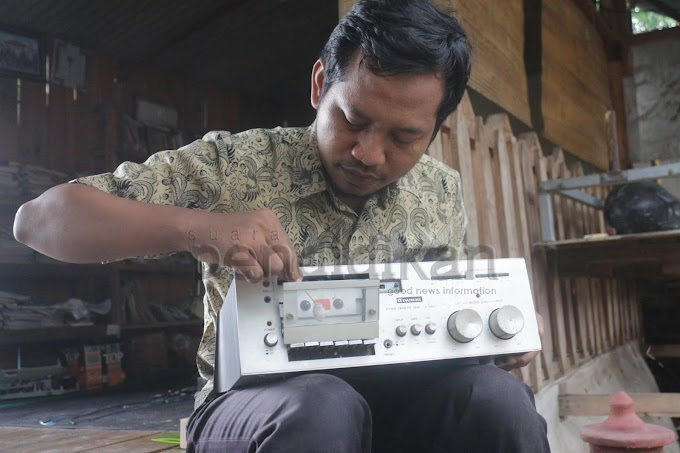 Zaenal Faudin Jatuh Hati dengan Tape Akibat Suntuk
