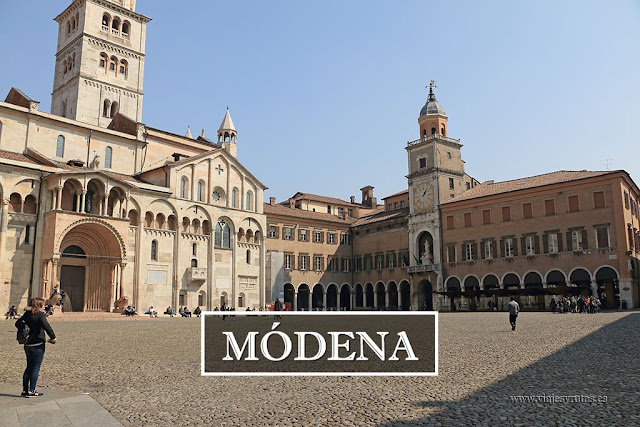 Guía turística de Módena. Ruta por la Emilia Romagna