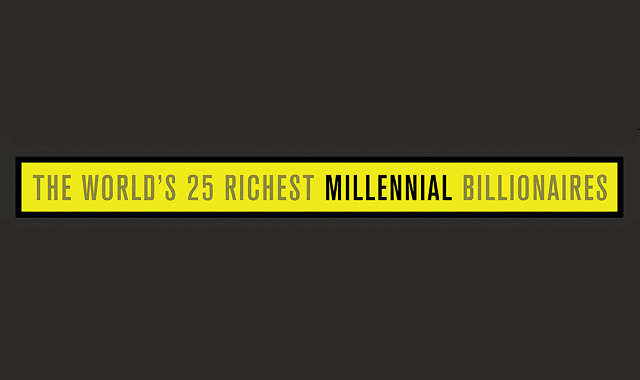 Some of the wealthiest millennial billionaires in the world