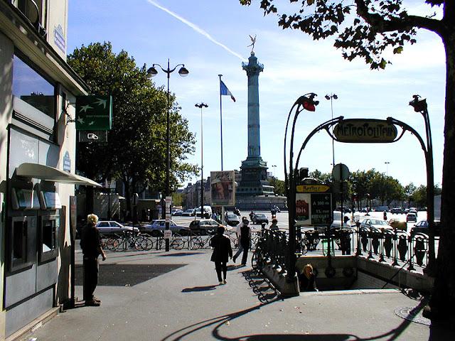 Bastille, Paris, France. Photo by Loire Valley Time Travel.