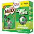 Get 1 free MILO Champ Towel with every 1-kg MILO pack