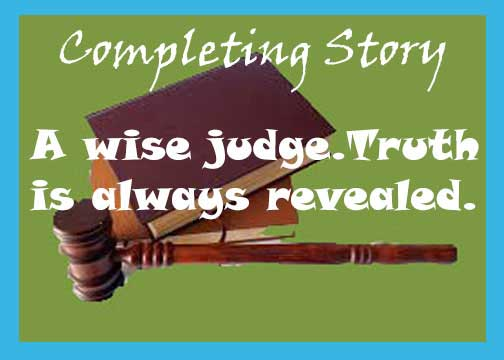 A wise judge story with moral. Inspirational story.