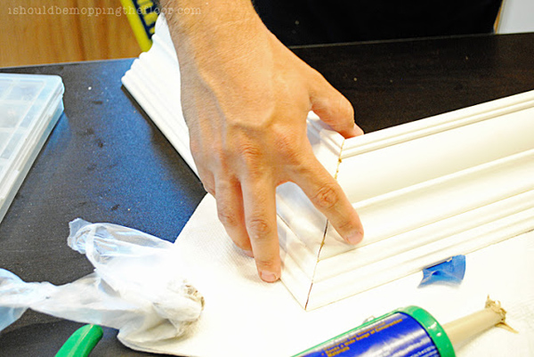 How to Assemble Crown Moulding