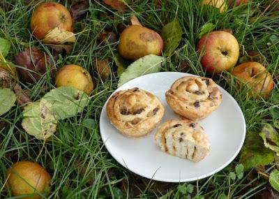 Apfel-Rollmuffins