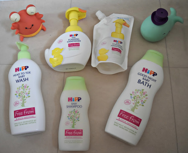 #BathTimeMoments with HiPP Organic
