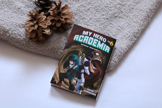 Kohei Horikoshi - My Hero Academia. Akademia Bohaterów t.6