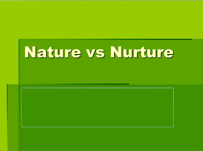 nature subsistence instance study