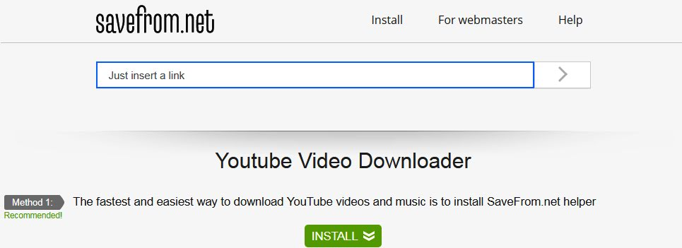 Best Online Free YouTube Video Downloader Websites