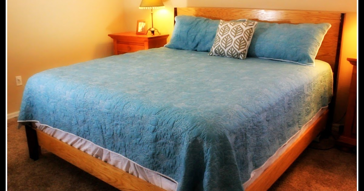 Simply Easy Diy Diy King Size Bed Frame Less Than 100