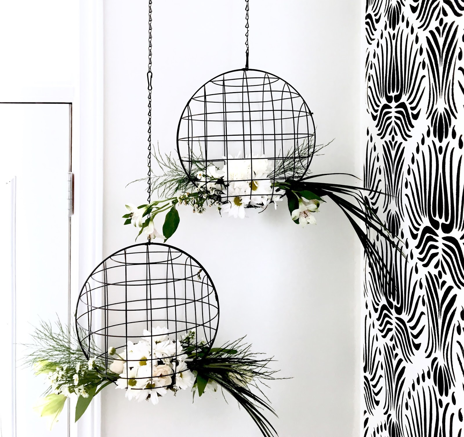 Diy floral chandelier harlow thistle home design lifestyle diy diy floral chandelier harlow and thistle 1 aloadofball Image collections