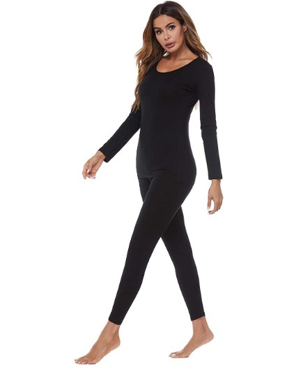 50%OFF Thermal Underwear for Women Long Johns Set
