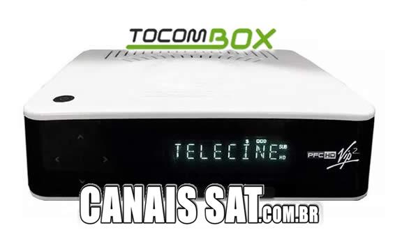 Tocombox PFC HD VIP 2 Atualização DRMCAM V2.009 - 28/12/2020