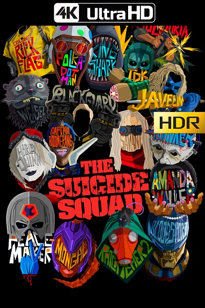 The Suicide Squad (2021) HBOMAX 4K-HDR WEB-DL 2160p Latino [CNMNHDD]