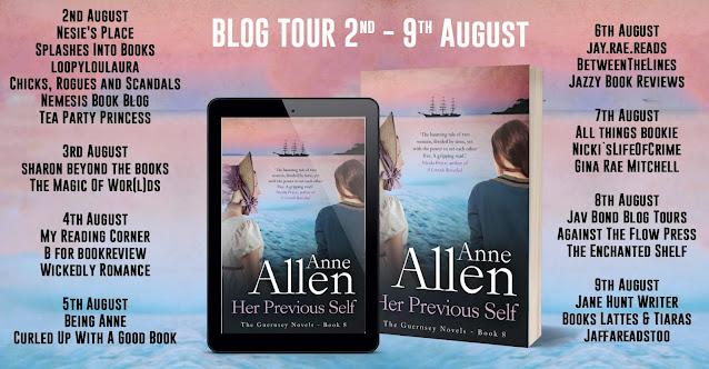 Her Previous Self by Anne Allen blog tour banner