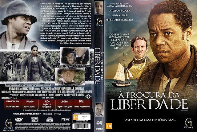 Capa DVD À Procura De Liberdade