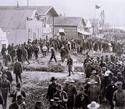 Calle principal de Dawson City - Klondike gold rush