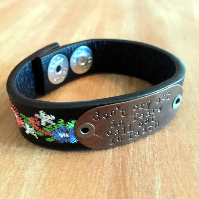FarmGirl Paints personalized cuffs