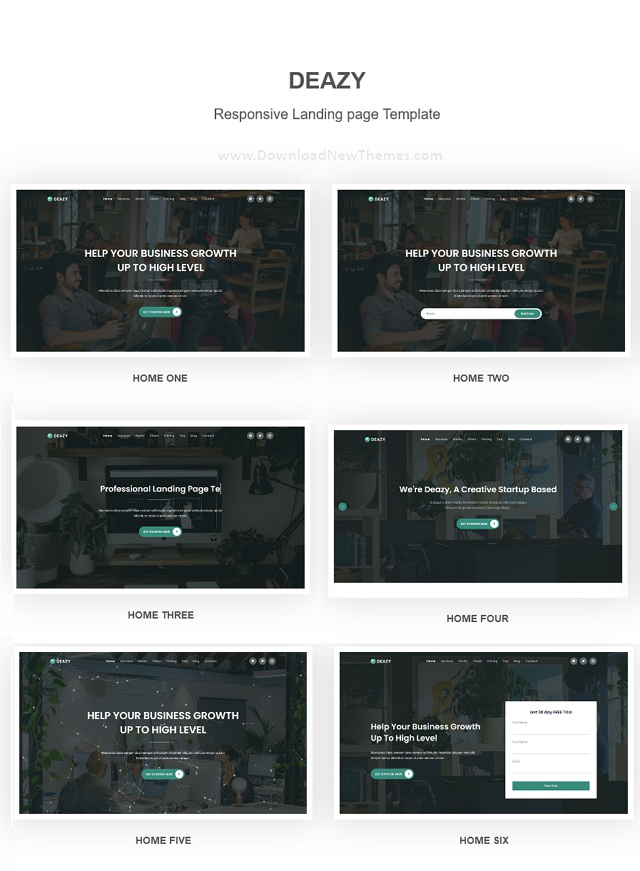 Bootstrap 5 Landing Page Template