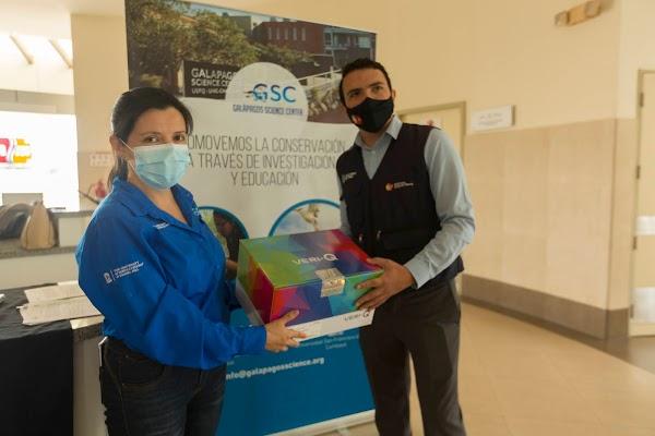 La Universidad San Francisco de Quito y el Galapagos Science Center donan equipo para PCR en San Cristóbal-Galápagos