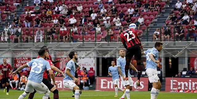 ملخص واهداف مباراة ميلان ولاتسيو (2-0) الدوري الايطالي