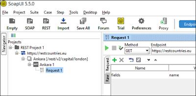 SoapUI'da REST API Servis Testi ve Kullanımı