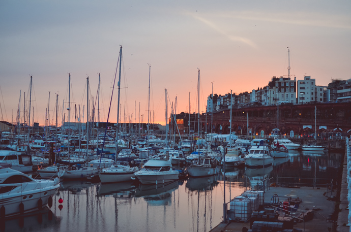 staying home, thanet, Ramsgate harbour