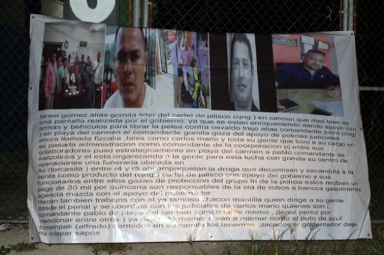 ENLODAN EN NARCOMANTAS POLICÍAS Y GOBIERNO PANISTA DE AYUDAR AL CJNG