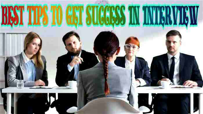 tips for success in interview