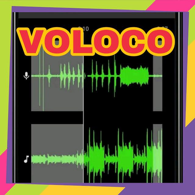 Application de traitement sonore Voloco ou de traitement audio professionnelle