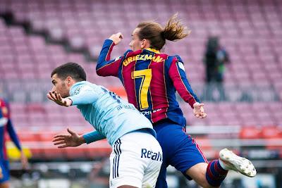 ملخص واهداف مباراة برشلونة وسيلتا فيجو (1-2) الدوري الاسباني