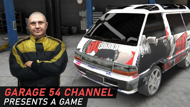Garage 54 - Car Tuning Simulator Hileli APK - Sınırsız Para Hileli