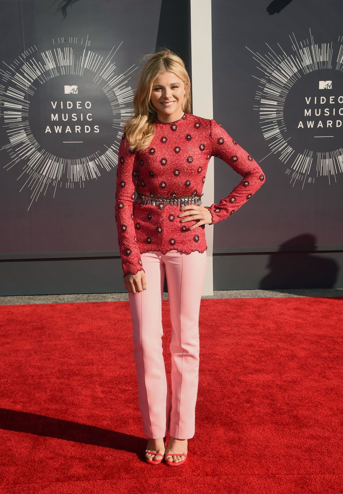 Chloe Moretz – 2014 MTV Video Music Awards in Inglewood #VMA