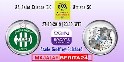 Prediksi Saint Etienne vs Amiens — 27 Oktober 2019