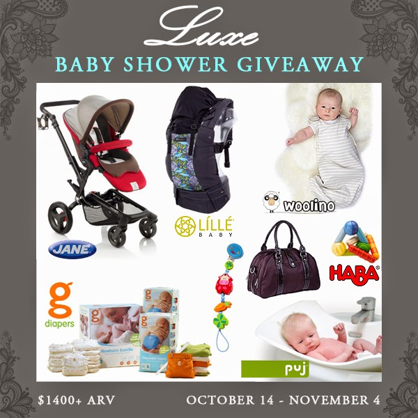 luxe baby shower giveaway luxebaby the best of this life