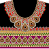 Jewelry Print Lehenga Textile Digital Design - Front 2739