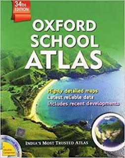 Student Atlas by Oxford in Hindi (स्टूडेंट एटलस ऑक्सफ़ोर्ड 'भारत संस्करण')