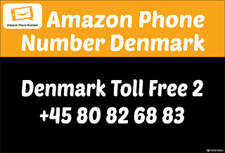 Amazon Customer Care Number Denmark